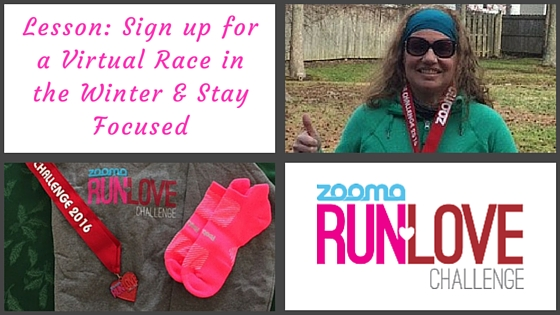 Lesson- Sign up for a Virtual Race in the Winter & Stay Focused